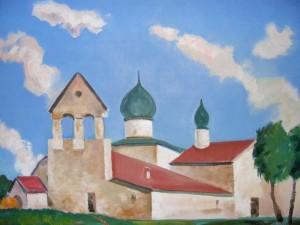 Monastery', 70x90