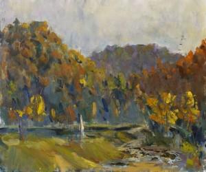 Maksym Hospodynchyk. Landscape. 2016