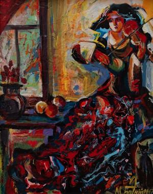 M. Bahnii 'The Violinist'