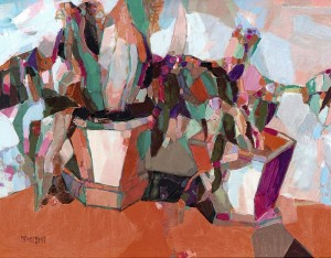 Квіти, 2008, орг.о, 60х80