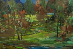 Лісова галявина, 1970-ті, к.о., 33х48