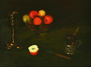 Still Life With Apples, 1978, 40x60
