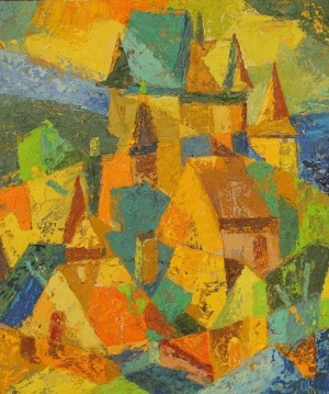 Under The Castle, 60x50