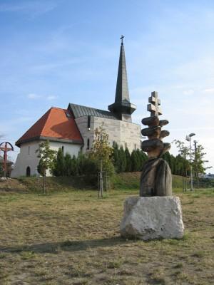 Памятник 1100-ю угорської державності, 2001, дерево, 1,8 м