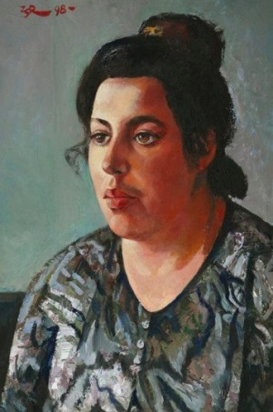 'Моя донька Лариса', 1998, 74х52.5