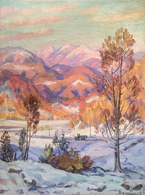 """The palette that enlivened the artistic space of the Carpathians"" by Fedir Manailo"