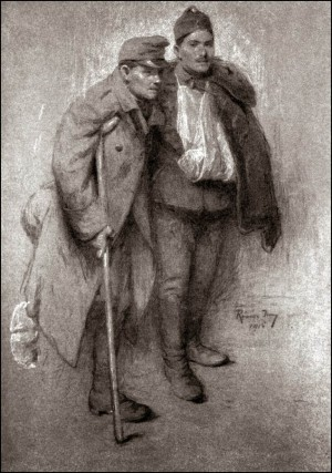 Two Hungarians, 1915