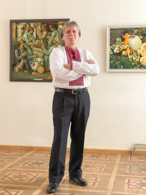 RETROSPECTIVE EXHIBITION OF SERHII HLUSHCHUK