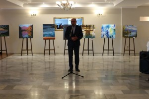 "TRANSCARPATHIAN ARTISTS TOOK PART IN ""ŠÍRAVA ART 2017"" PLEIN AIR"