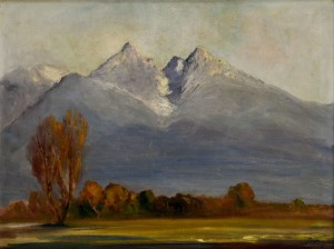 'View Of The Tatras Mountains', the 1930s, oil on canvas, 79x99.jpg