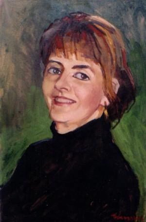 Жіночий портрет, 2006, п.о., 70х50