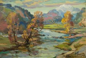 Autumn, 1987, oil on canvas, 59x84