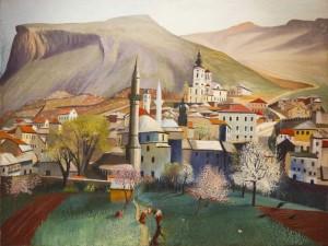 Весна в Мостарі, 1903