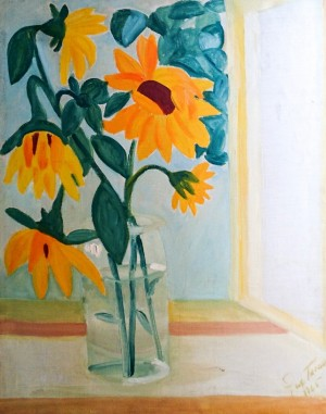 Still life With Sunflowers, 1965