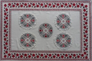 Embroidery-Tablecloth, 1989