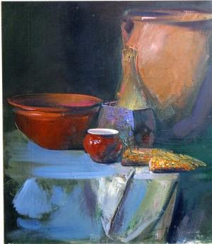 Сніданок, 2004, п.о., 60х50
