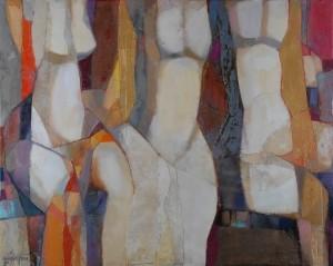 Тріо, 2010, 90х110,2