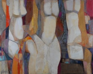 Trio, 2010, 90x110-2