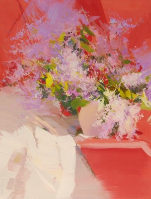Lilacs 2013oil on canvas 65x50.