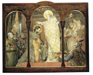Коронація Св. Іштвана. Угорська нац. галерея.
