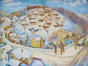 Замкова гора, 1978, орг. левкас.темп., 83х109