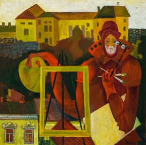 Семан Ф. Автопортрет. Володар Ужгородського замку, 2001