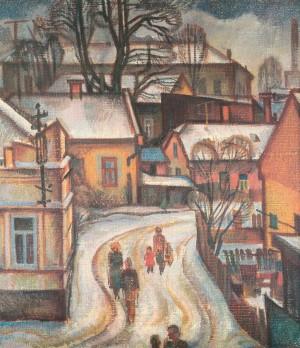 Вулиця Пархоменка, 1976, п.темп., 70х60