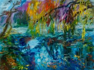 Дзеркальна вода, 2014, п.о., 60х80