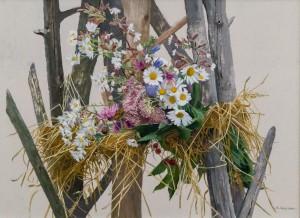 A. Landovska. Wreath, 2017