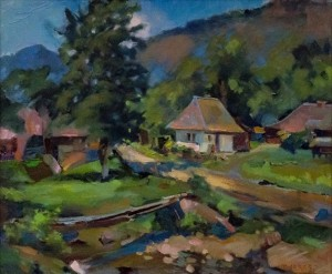 T. Levlias. Summer of Stuzhytsia Village, 2017