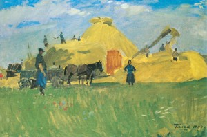 Collective Farms Life, 1957, oil on canvas, 55х81