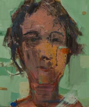 Petro Hrytsiuk. Portrait. 2017. 50х60