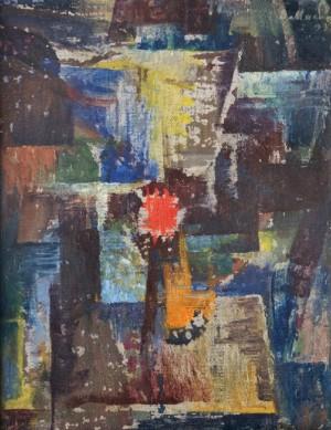 Одинока, 1993, п.о. 35х27