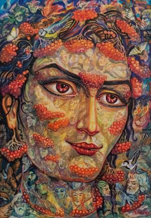 L. Haidu Red Guelder Rose', 2018
