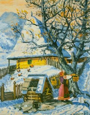 Зима 1975, п.о. 60,3х39