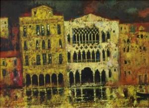 Венеція, 1996, т.двп, левкас, жовткова емульсія
