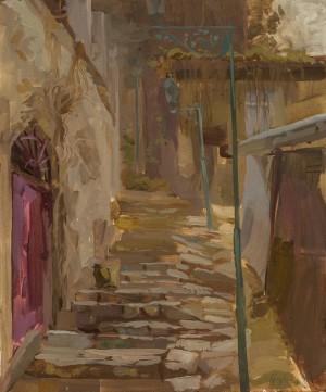 Alina Hrubets. Cityscape. 2017. 50х60