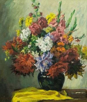 Квіти, 1970-ті, п.о., 73х62