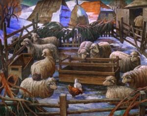 Овеча кошара, 2004, орг.о.т. 137х171