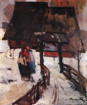 Зима, 1969, п.о. 60х50