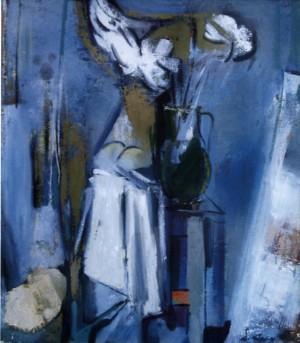 Блакитний натюрморт, 2000, п.о., 70х60
