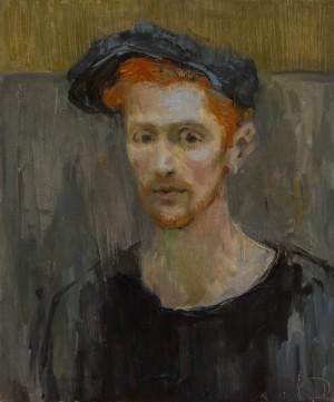 Kseniia Datsiuk. Portrait. 2017. 50х60