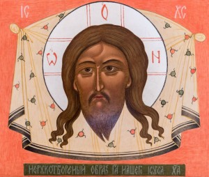 A. Maiovets Not-Made-by-Hand icon of the Savior', board, tempera, 28x33