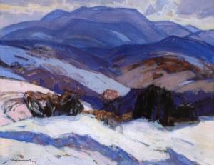 Зима, 1972, п.о. 95х120