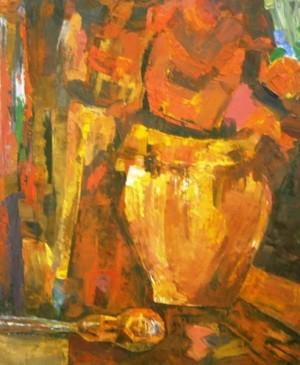 Натюрморт з наскаду', 1978, о.фанера, 73,5х60