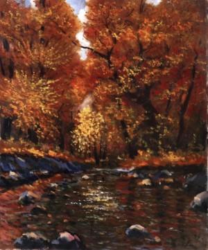Осінній етюд, 1995, 70x60