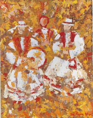 Wedding Song, 1999, oil on canvas, 90x70