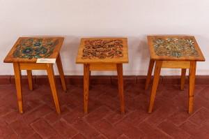 T. Ivanytska, M. Ivanytskyi 'Decorative Stools'