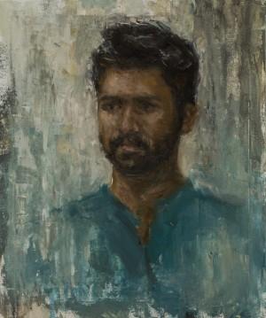 Anastasiia Didenko. Portrait. 2017. 50х60
