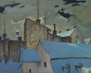 Білі ночі Ужгорода, 1988, п.о.